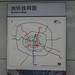Metro line map in Chengdu, China