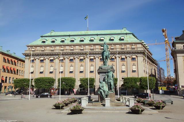 Kungliga Operan (Königliches Opernhaus) in Stockholm (28.06.17)