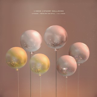 [ keke ] starry balloons . twirling and still | by [ keke ] by Kean Kelly