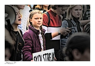 Greta Thunberg, Paris (France), 22 février 2019 | by stephane_p