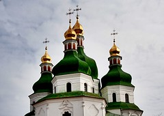 Ukrainian Baroque. 1658. St. Nicholas Cathedral. (1668-70) Nizhyn. Ukraine.