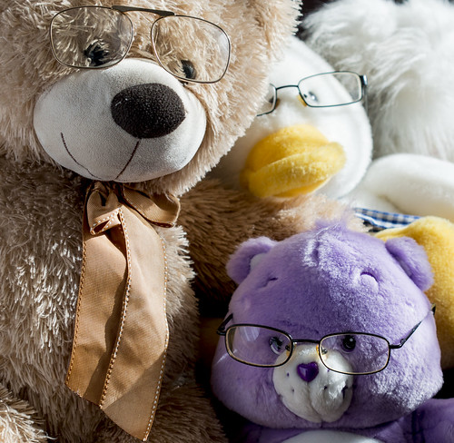 Teddy Family glasses | by Ray Duffill