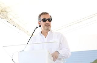 Más energía limpia: Danilo Medina asiste a inicio operaciones Parque Eólico Agua Clara, que aportará 50 MW al Sistema Eléctrico Nacional | by PresidenciaRD