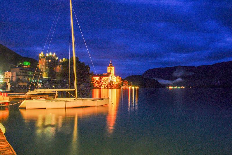 聖沃夫岡湖之夜 1
