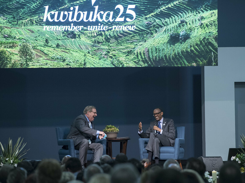 Kwibuka25 at Saddleback Church | California, 14 April 2019