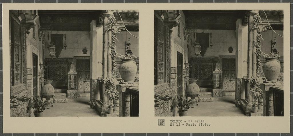 Palacio de Benacazón. Colección de fotografía estereoscópica Rellev © Ajuntament de Girona / Col·lecció Museu del Cinema - Tomàs Mallol