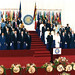 Leaders at the CHOGM 1991 in Zimbabwe