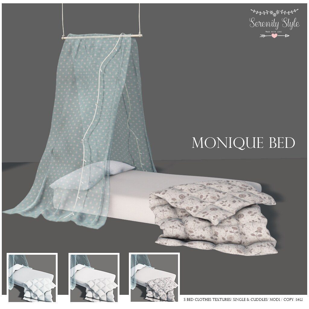 Serenity Style- Monique Bed