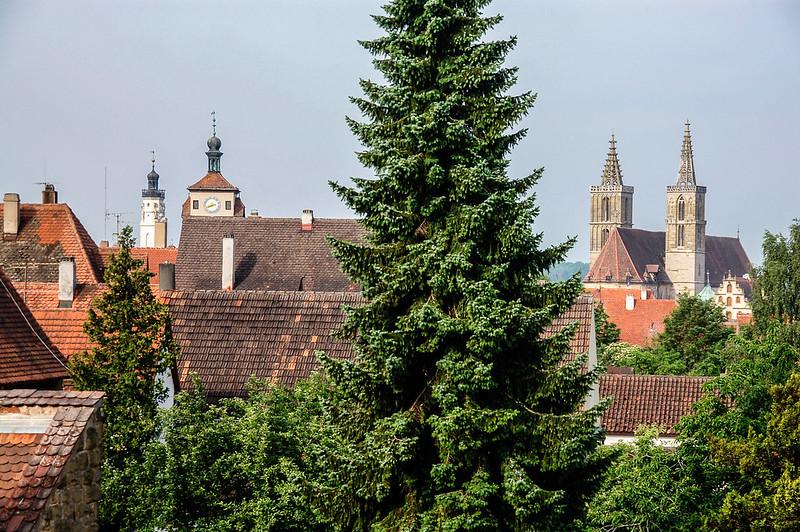 羅騰堡城牆上望城區 2