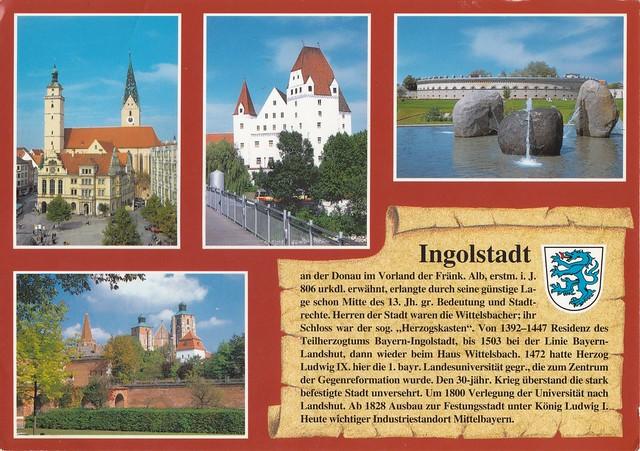 Ingolstadt / Bayern / Deutschland / Germany