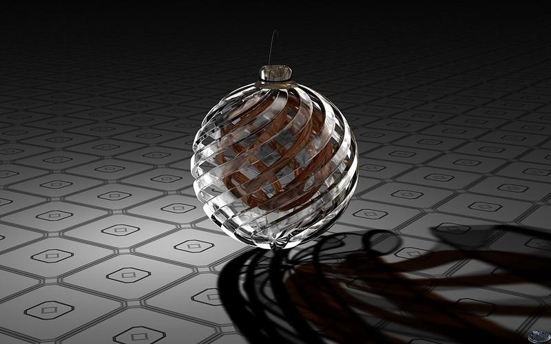 Обои digital art, 3d, шар, поверхность картинки на рабочий стол, фото скачать бесплатно