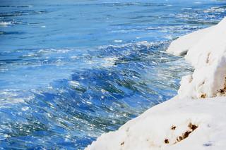 Frozen Incoming Waves | by jadedirishgryphon