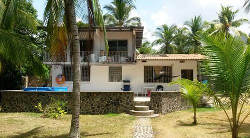 Unsere Unterkunft am Strand von Veracruz
