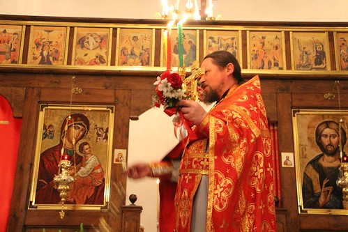 Пасхальное Богослужение в Свято-Никольском храме станицы Кавказской IMG_1396