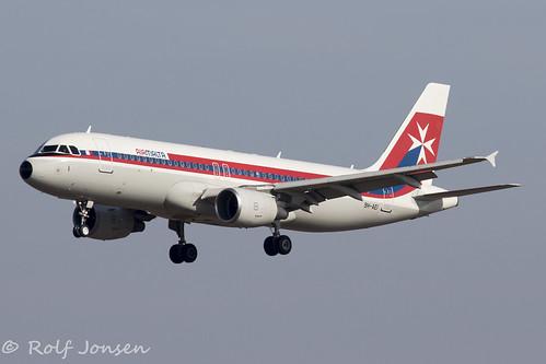 9H-AEI Air Malta Munich airport EDDM 19.02-19   by rjonsen