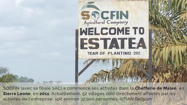 Diaporama SOCFIN 2011 - 2018