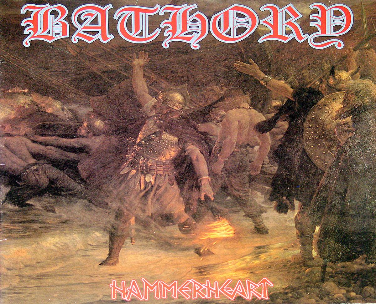 "Bathory Hammerheart Black Viking Metal 12"" Vinyl LP"