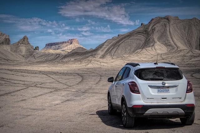 Road Trip, Factory Butte, Utah