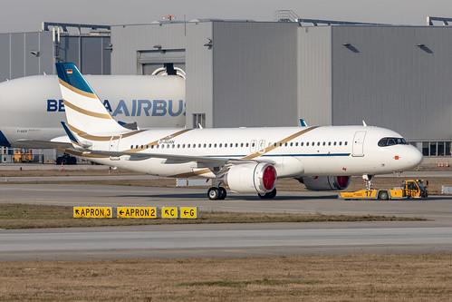 ACJ320-251N Air Luther D-AUAN - HB- MSN8638 | by hendriksehoof55
