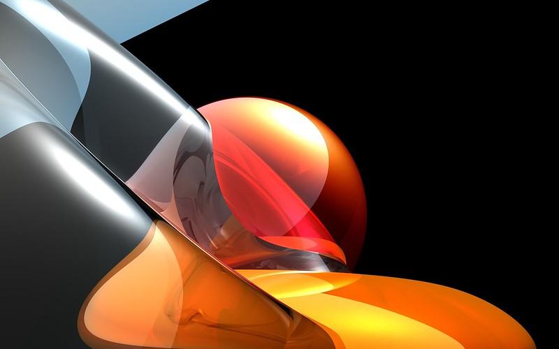 Обои форма, шар, оранжевый картинки на рабочий стол, фото скачать бесплатно