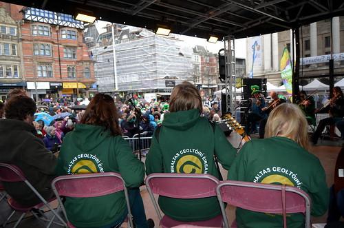 Saint Patrick's Day Nottingham 2018 Gerry Molumby (79) | by triskellion_uk