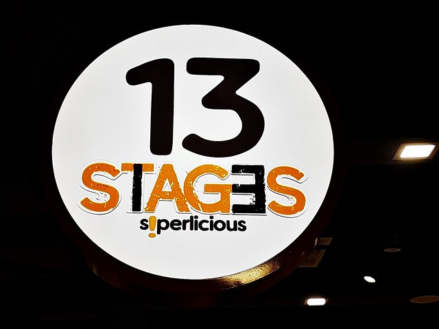 13 Stages Signage