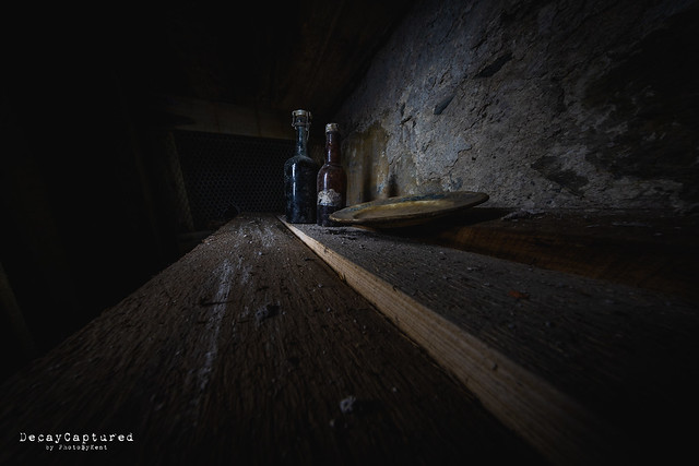 Unopened bottles