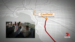 Ch7 9/4/2019 - Still from timelapse of trip from Caulfield to City | by Daniel Bowen