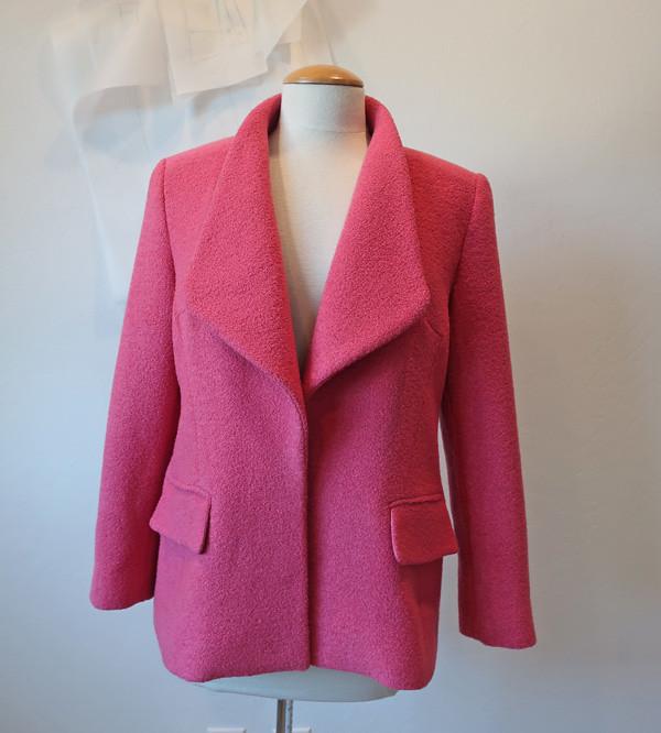 Pink Jacket on form 2