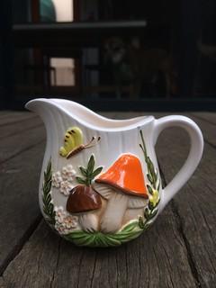 Fungi milk jug