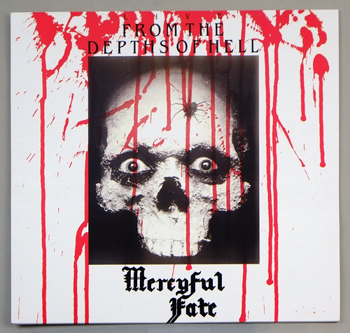"MERCYFUL FATE FROM THE DEPTHS OF HELL RED VINYL 12"" LP ALBUM VINYL"