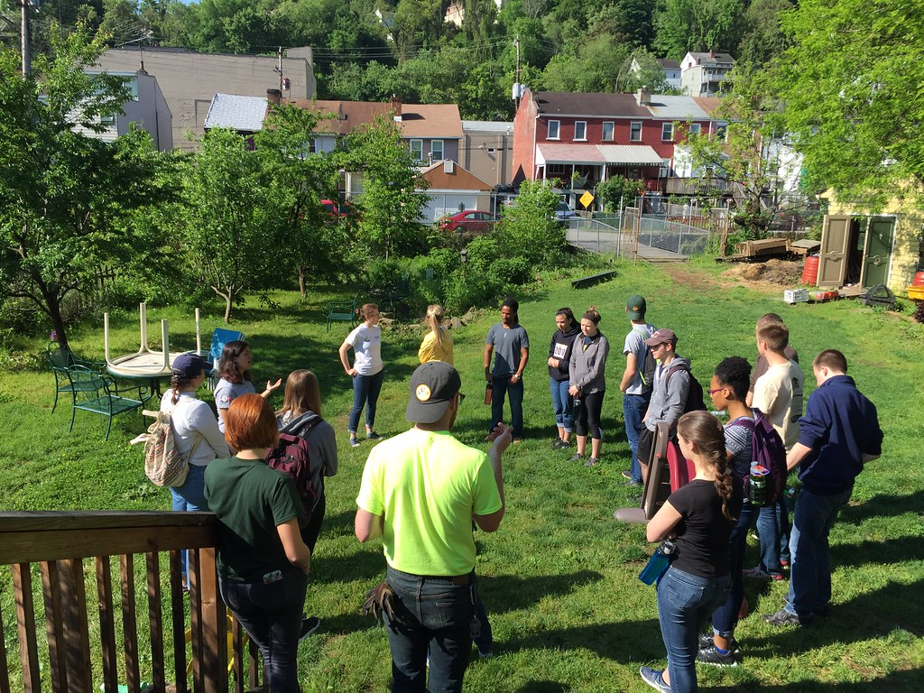 Pitt MCSI 2015 Summer Project at Garfield Farm, Pittsburgh