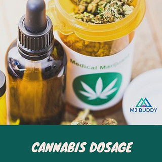 cannabis dosage
