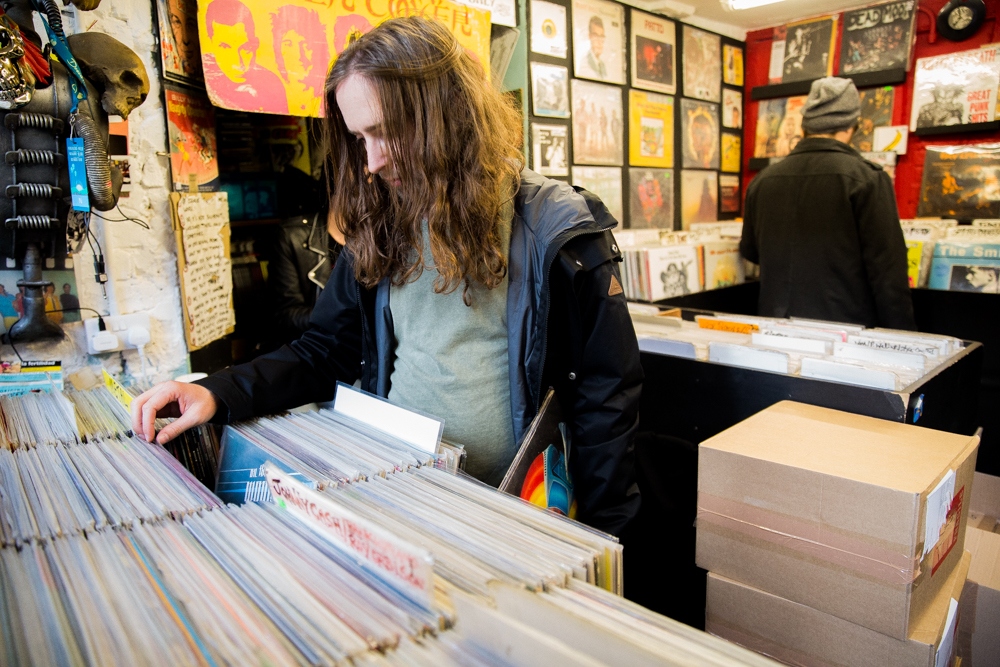 Record Shopping with Psychedelic Porn Crumpets