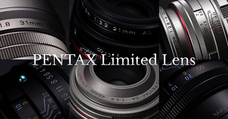 PENTAX | Limited Lens – until it sees the light –