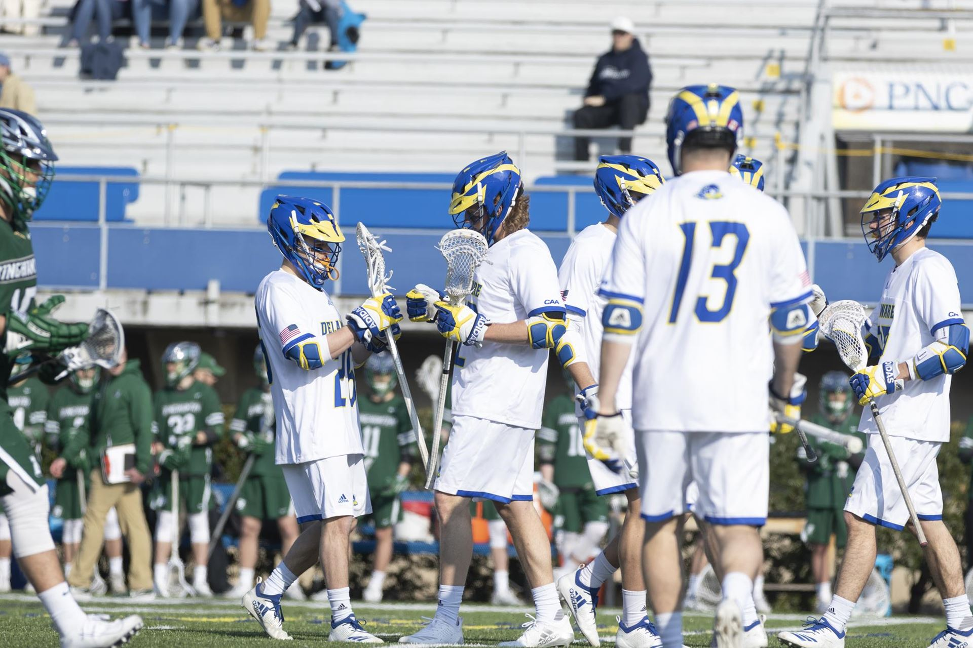Men's Lacrosse ends a memorable season against Towson