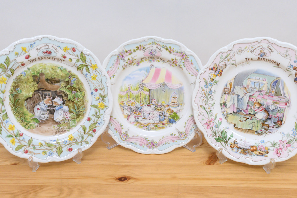 SPECIAL OCCASION PLATES / BRAMBLY HEDGE