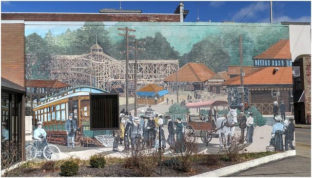 Wall Mural @ Steubenville Ohio