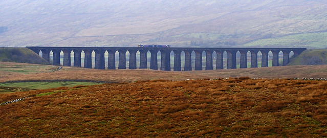 Ribblehead Viaduct from The Dales Way.