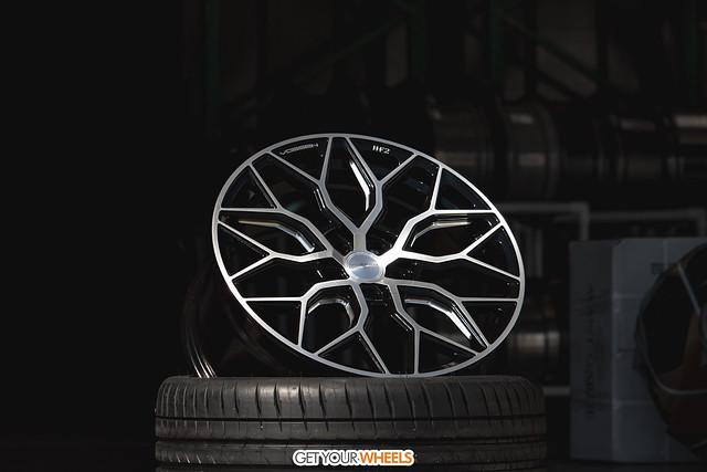 Vossen HF2 - Brushed Gloss Black