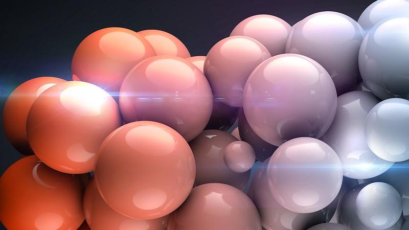 Обои шары, форма, светлый картинки на рабочий стол, фото скачать бесплатно