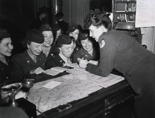 Army Nurses at the Women Officers' Club, Paris, France | by National Library of Medicine - History of Medicine