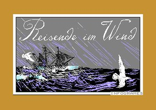 Reisende im Wind (Commodore 64) | by Deep Fried Brains