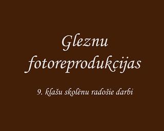"""Projekts """"Fotoreprodukcijas"""" 2019"""
