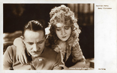 Norman Kerry and Betty Compson in Love Me and the World Is Mine (1927)