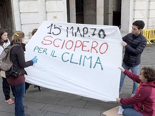 sciopero mondiale per il clima | by LA VOCE DEL PAESE