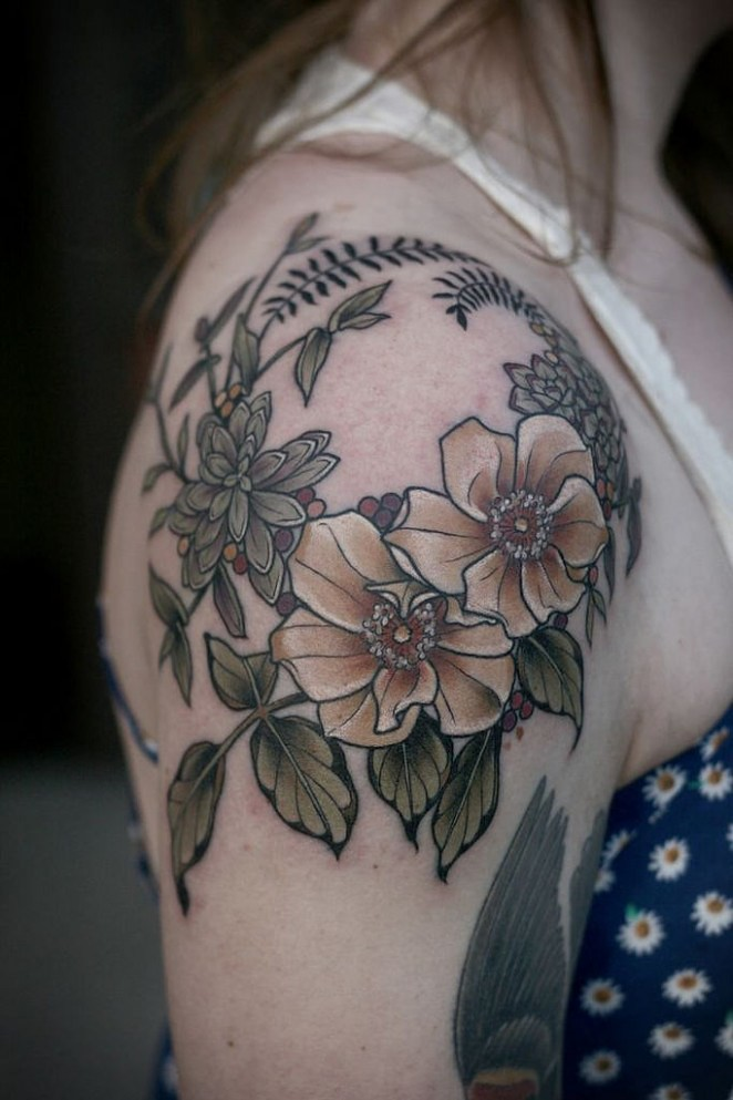 Seven Things About Flower Tattoo Photos You Have To Experience It Yourself  flower tattoo photos