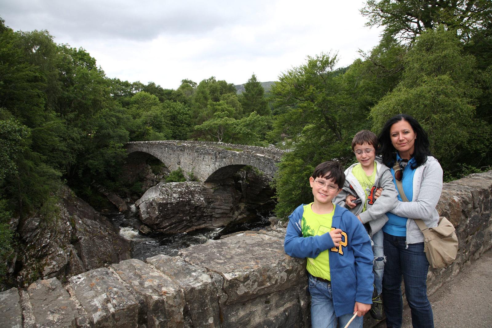 Stone bridge near Fort Augustus, Loch Ness