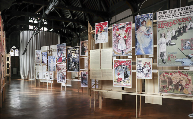 """""""Affiches Belle Epoque"""" Exhibition at Musée de la ville de Bruxelles"""