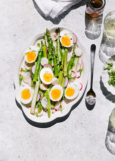 asparagus and eggs salad | by lisa_shen